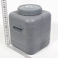 Бочка пластиковая 30л крышка, клапан (БК) купить оптом и в розницу
