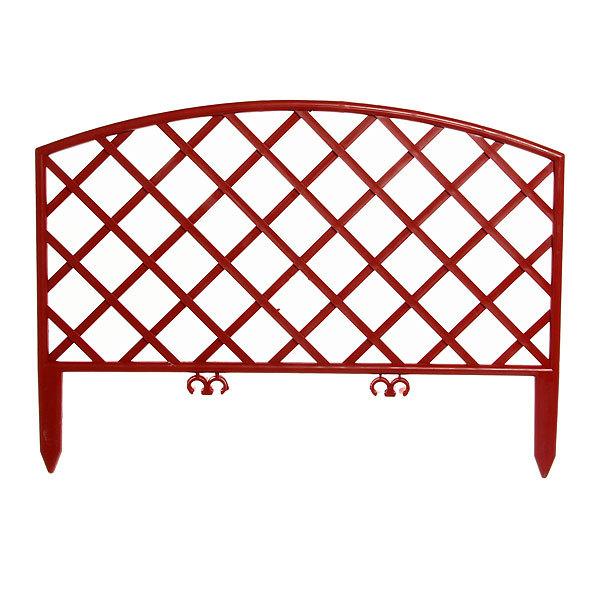 Забор декоративный №6 ″Плетенка″ (24*320см) ЗД06 терракот купить оптом и в розницу