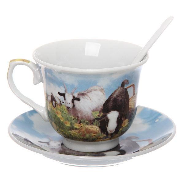 Чайный набор 2 предмета 180мл ″Овечки на лугу″ купить оптом и в розницу