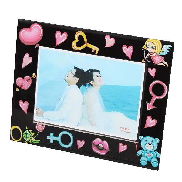 Фоторамка из стекла ″Нежные чувства″ 13х18см любовь купить оптом и в розницу