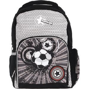 Рюкзак школьный PROFF Street Ball 39*28*16 см,  1 отд. на молнии, 5 внеш. карм. жесткий купить оптом и в розницу