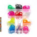 Набор резинок для плетения браслетов 600штук 10 цветов Мишутка купить оптом и в розницу