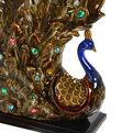Статуэтка керамическая ″Павлин Перламутр″, 34*37см купить оптом и в розницу
