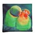 Наволочка декоративная 40*40см Попугаи купить оптом и в розницу