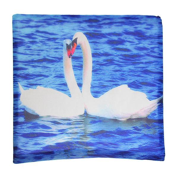 Наволочка декоративная 40*40см Лебеди купить оптом и в розницу