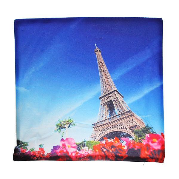 Наволочка декоративная 40*40см Эйфелева башня купить оптом и в розницу