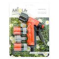 Набор для полива (Пистолет-наконечник для полива 2 позиции+комплект коннекторов1/2″) ARIOLA Чехия купить оптом и в розницу