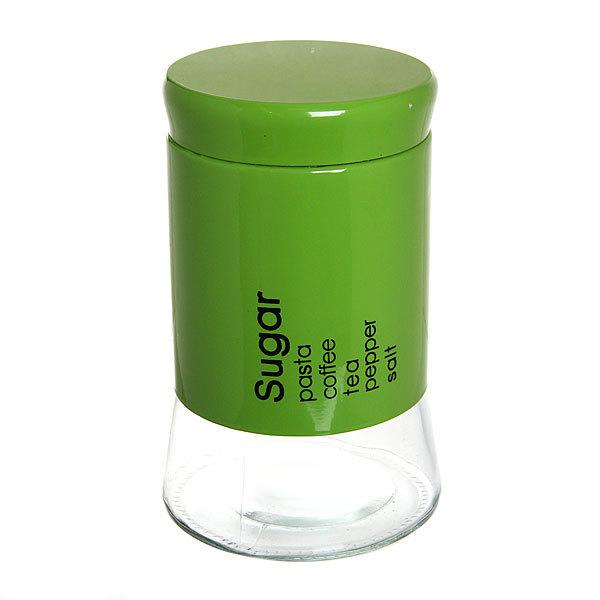 Банка для продуктов стеклянная в наборе 3 шт ″Кухня″ 600,800,1200 мл ″Зеленая″ купить оптом и в розницу
