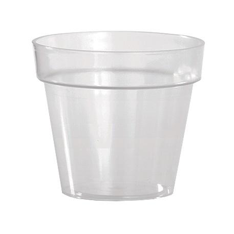 Кашпо Ибица прозрачное -красн 18 2,5 л *10  Form plastic купить оптом и в розницу
