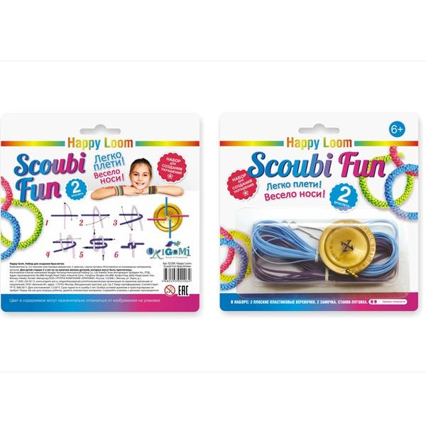 Набор ДТ Изготовление браслетиков.Scoubi Fun Happy Loom 02206 купить оптом и в розницу