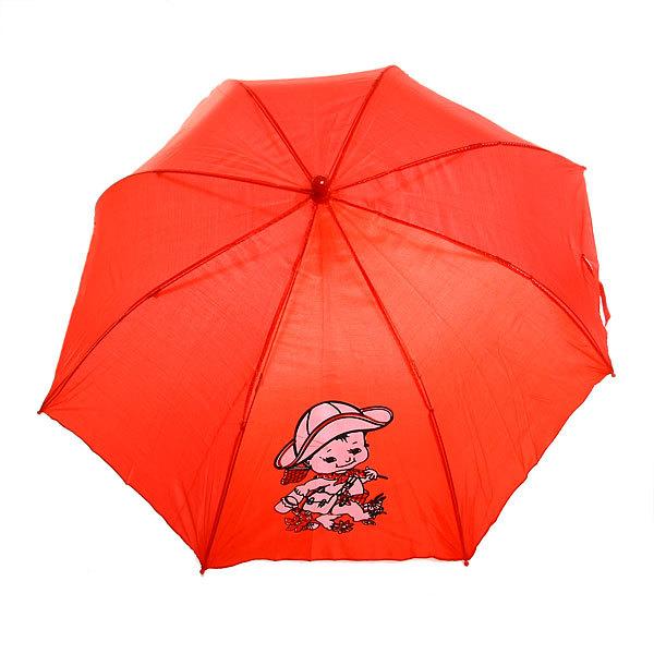 Зонт детский полуавтомат со свистком ″Малыши″, 8 спиц, d-77см, длина в слож. виде 45см купить оптом и в розницу
