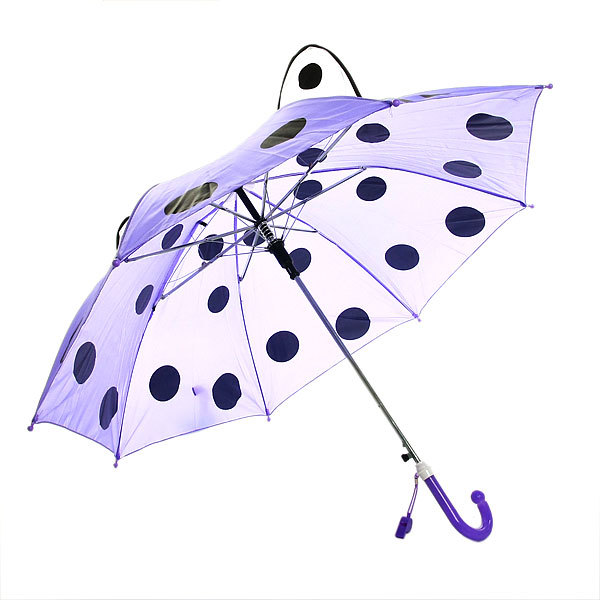 Зонт детский полуавтомат со свистком ″Забава″, 8 спиц, d-77см, длина в слож. виде 45см купить оптом и в розницу