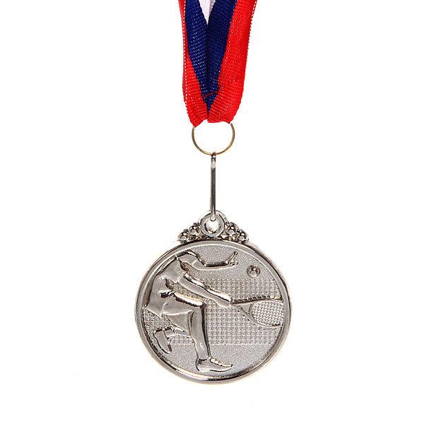 Медаль ″ Теннис ″- 2 место (4,5см) купить оптом и в розницу