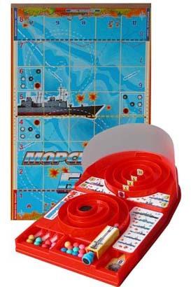 Игра Морской Бой /ОМЗЭТ/ купить оптом и в розницу