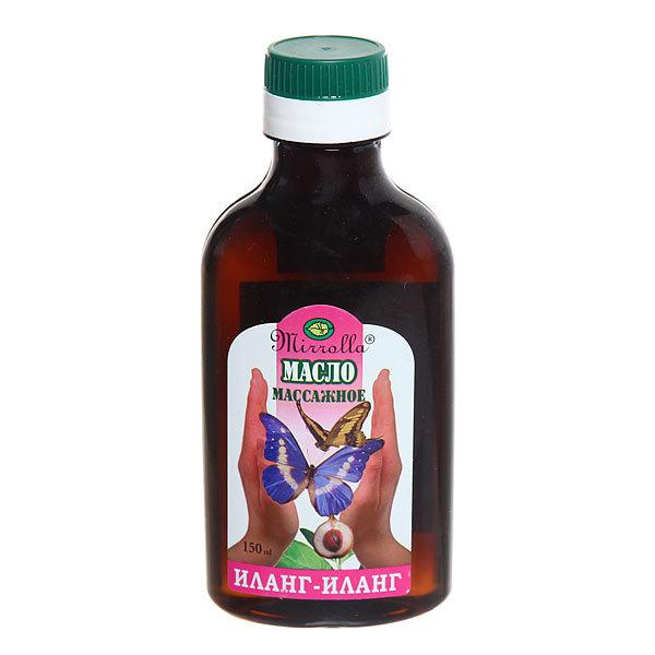 Масло массажное «Mirrolla» Иланг-Иланг (интимное) 150мл купить оптом и в розницу