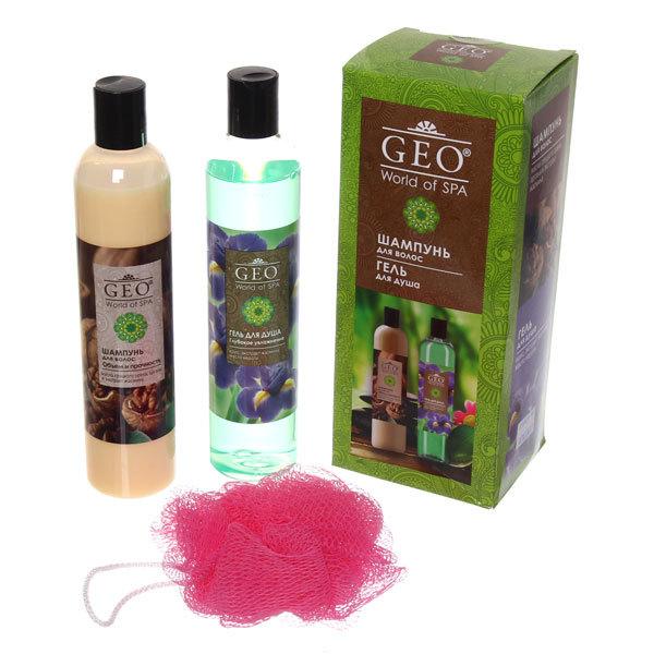 Подарочный набор Geo №283 Объем и Увлажнение (шамп.+гель д.д.) 4865 купить оптом и в розницу