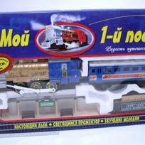 Ж/д 0612 Мой первый поезд 12 элем. на бат. Joy Toy купить оптом и в розницу