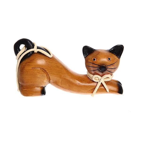 Фигурка из дерева ″Кошка″, 10см купить оптом и в розницу