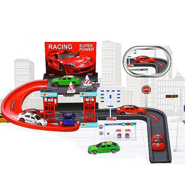 Игровой набор Гараж-Паркинг с 2 машинками купить оптом и в розницу