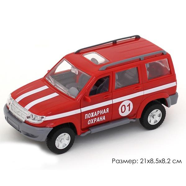 Машина инерц. 10602АПР Джип Пожарная охрана в пак. купить оптом и в розницу