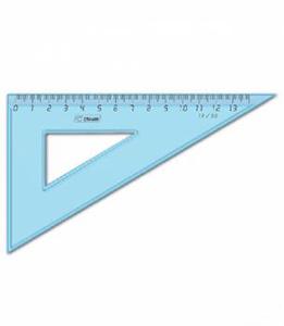 Треуг.средний Cristal 1цв.тониров. голуб. 13см угол 30 купить оптом и в розницу
