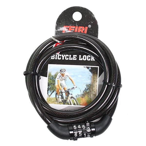 Замок велосипедный кодовый 8*1000 F-169 купить оптом и в розницу