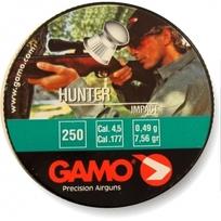 Пуля пневматическая Gamo Hunter, 4,5 мм, 0,49 гр (250 шт) купить оптом и в розницу