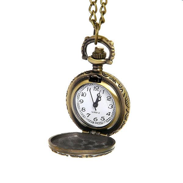 Часы винтажные на цепочке ″Сердечко″ купить оптом и в розницу