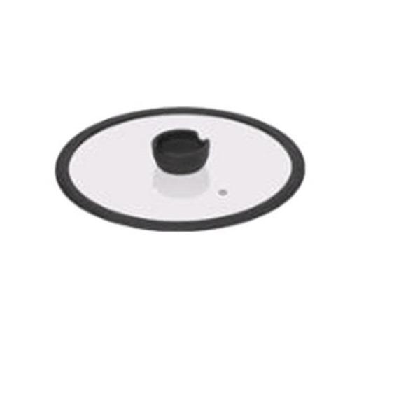 Стеклянная крышка с силиконовым ободом, 20 см, NADOBA, серия FINA  *6 купить оптом и в розницу