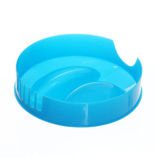 Кувшин пластиковый 1,2л ″Цветы″ прозрачно-голубой купить оптом и в розницу