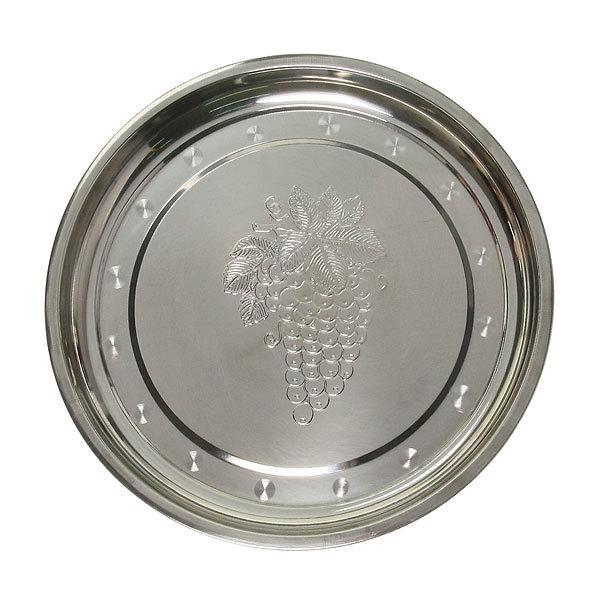 Поднос металлический 28 см круглый купить оптом и в розницу
