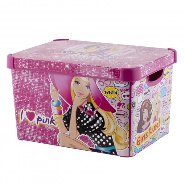 Коробка декоративная STOCKHOLM XL розовый/*5 шт Curver купить оптом и в розницу