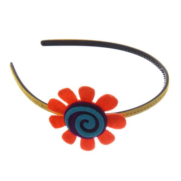 Ободок для волос ″Иветта - радужный цветок″, цвет микс купить оптом и в розницу