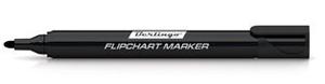 Маркер д/бум.Flipchart Berlingo круг/жало черный 2мм купить оптом и в розницу