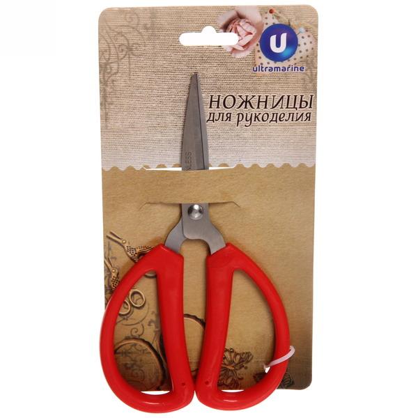 Ножницы для рукоделия 15,5 см ″Капельки″ купить оптом и в розницу