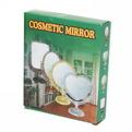 Зеркало настольное в пластиковой оправе ″Версаль Винтаж - Сердце″ цвет антрацит, двухстороннее 20см купить оптом и в розницу