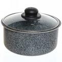 Набор посуды Onyx 5 предметов (сотейник, сковорода, кастрюля, стеклянная крышка, съемная ручка) JO-004 купить оптом и в розницу