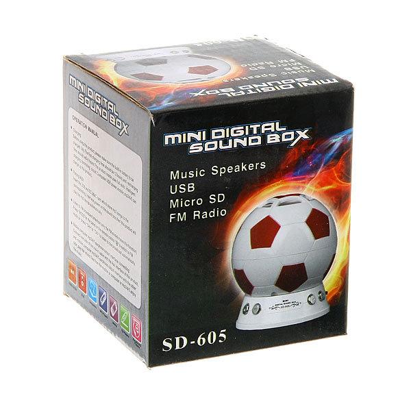 Минисистема акустическая ″Футбольный мяч″ FM, USB, miniSD, AUX купить оптом и в розницу