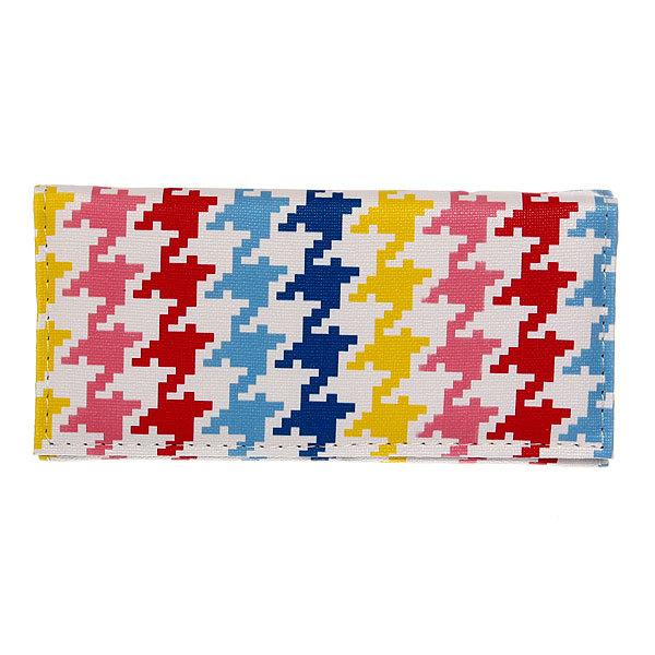 Кошелек женский ″Модный принт″ разноцветный, яркий 4 отделения 18*9 купить оптом и в розницу