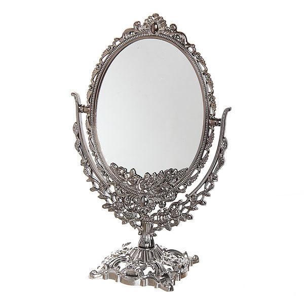 Зеркало настольное ″Версаль″ Овал 20см 439-2 бронза купить оптом и в розницу