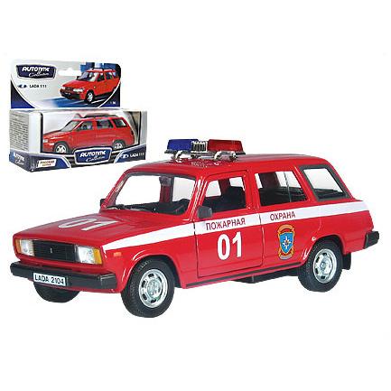 Модель Лада 2104 пожарная охрана 32677 1:34/39 купить оптом и в розницу