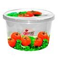 Емкость для продуктов Браво Овощи круглая 0,75 л *40 купить оптом и в розницу
