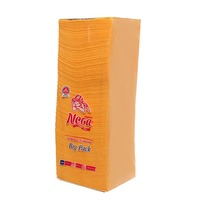 Cалфетки бумажные 1сл. 400л Нега БикПак Желтый 0033 купить оптом и в розницу