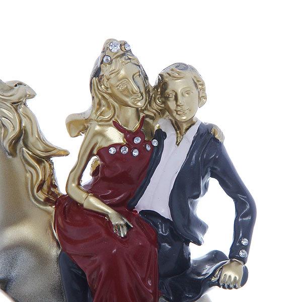 Статуэтка ″Влюбленная пара″ бронза 16,5*14,5см купить оптом и в розницу