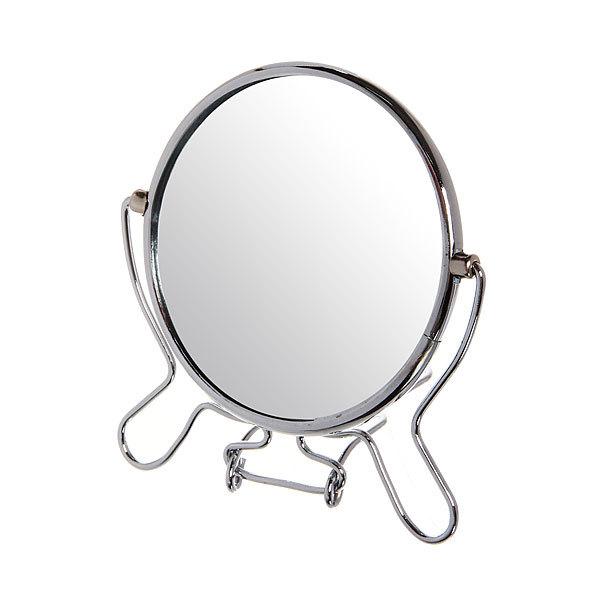 Зеркало настольное в металлической оправе ″Модерн″ круг, одностороннее d9,5см купить оптом и в розницу