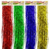 Дождик 1,5м ″Голограмма″ Гофре цветной тонкий купить оптом и в розницу