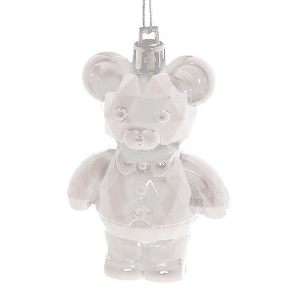 Ёлочная игрушка набор (18шт)серебро LR2014-5 купить оптом и в розницу