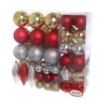 Новогодние шары (69шт) ″Чемоданчик″SGR LR6PZh-1 купить оптом и в розницу
