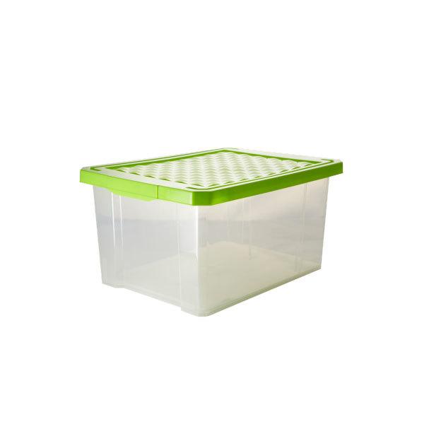 Ящик дляхранения ″X-BOX″ 17л ПЦ2572 микс купить оптом и в розницу