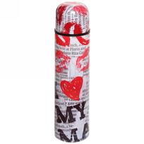 Термос с металлической колбой 750 мл ″Селфи″ ″ Поцелуй ″ купить оптом и в розницу